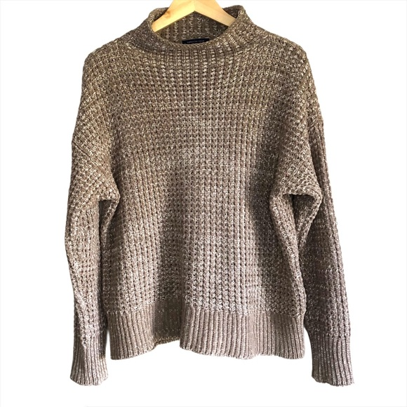 American Eagle Cowl neck chunky knit sweater